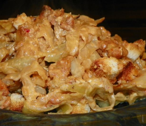 German Cabbage Casserole - Kohl Und Hackfleisch