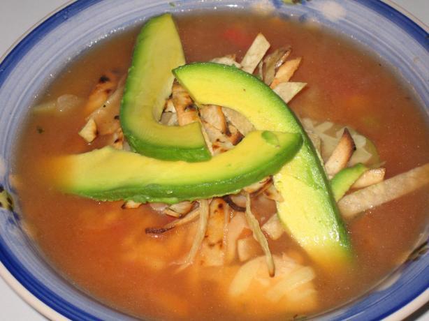 El Torito Chicken Tortilla Soup