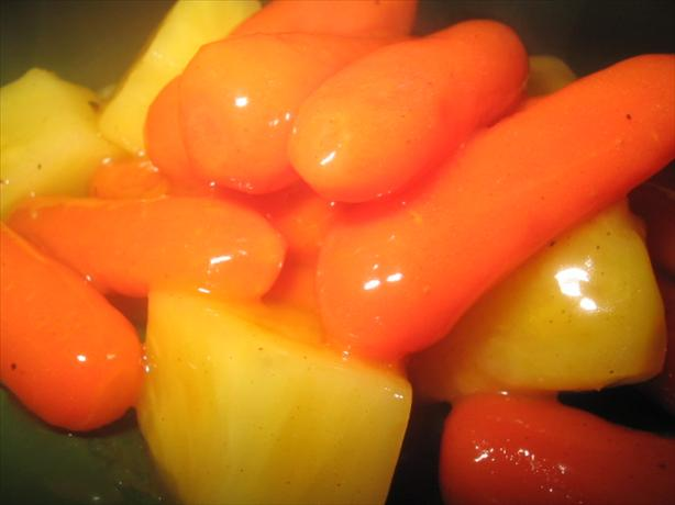 Holiday Carrots With Pineapple