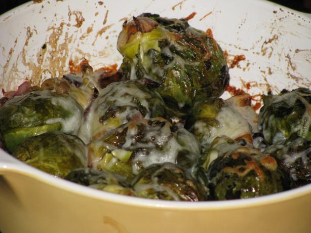 Balsamic-Roasted Brussels Sprouts