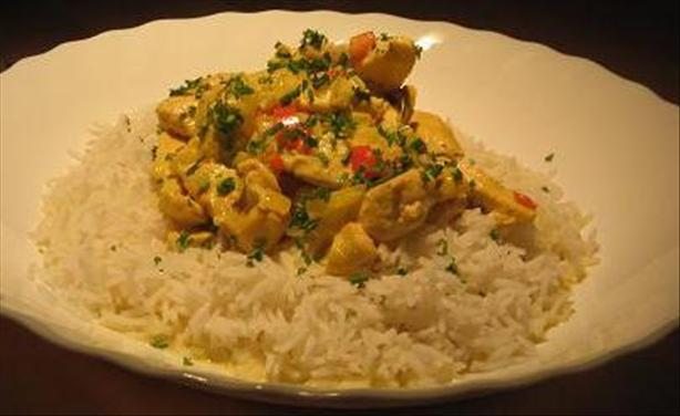 Caribbean Chicken in Coconut Milk