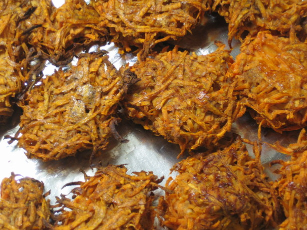Sweet Potato Latkes (Pareve)