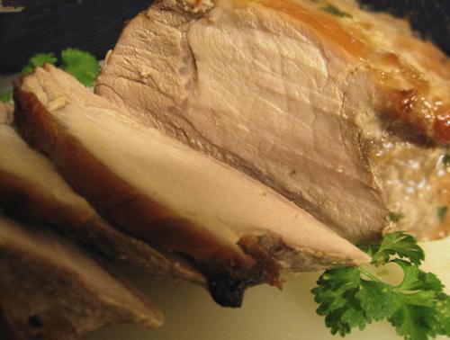 Pork Tenderloin in Bourbon-Brown Sugar Marinade
