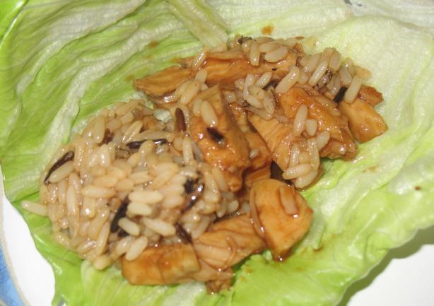 Chicken Hoisin Lettuce Wraps