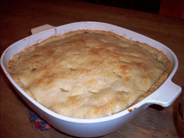 Lentil and Golden Squash Pot Pie