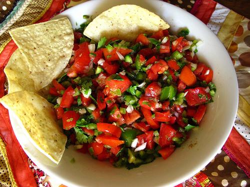 Fresh Vegetable Pico De Gallo