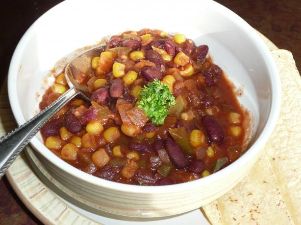 Chili Con Elote (Chili With Corn)