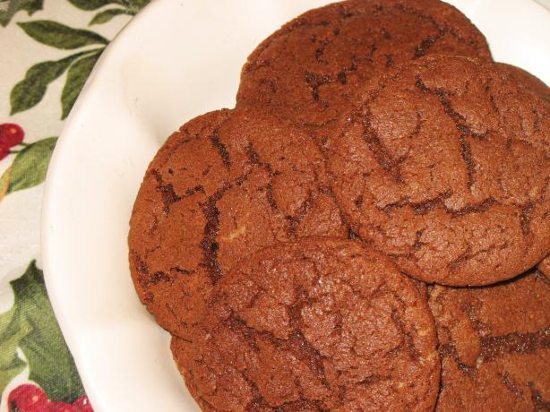 Chocolate Marzipan Sugar Cookies
