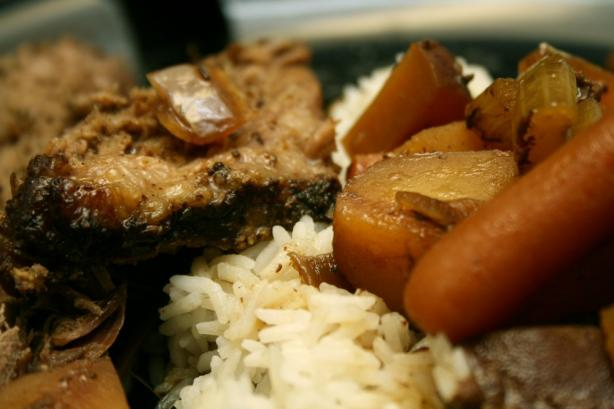 Dave's Newly Famous Pickapeppa Crock Pot Roast