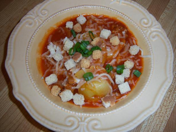 Italian Knife-And-Fork Soup