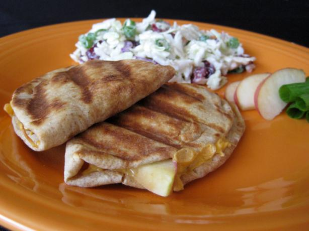 Apple Cheddar Quesadillas