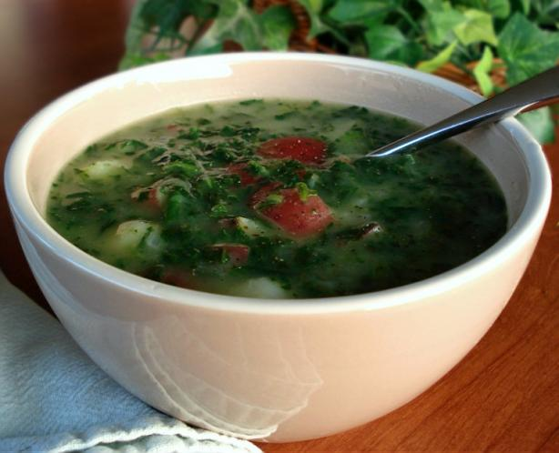 Ww Potato Spinach Soup
