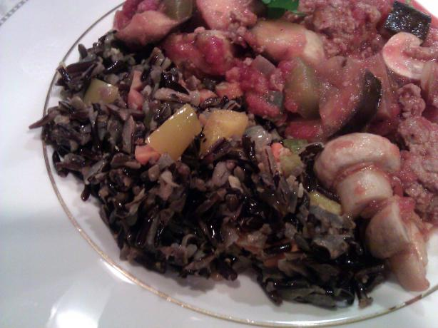 Wild Rice With Pumpkin Seeds