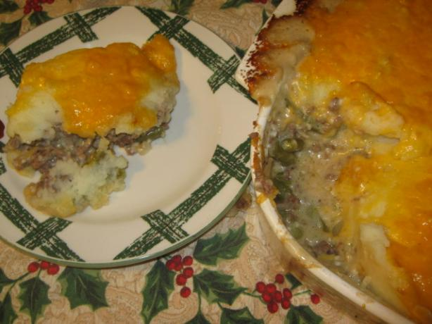World Famous Hamburger Casserole