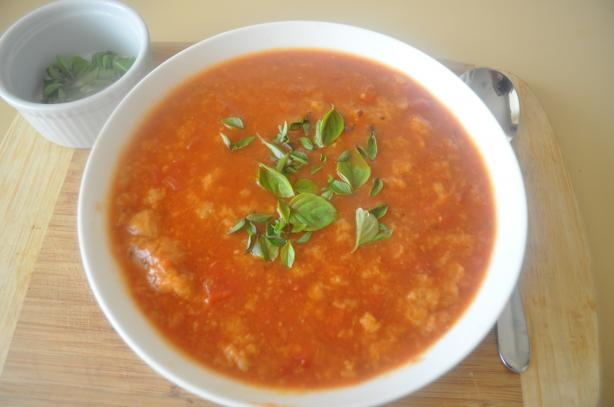 Pat's Tomato Bread Soup