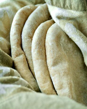 Make Ahead Pita Bread