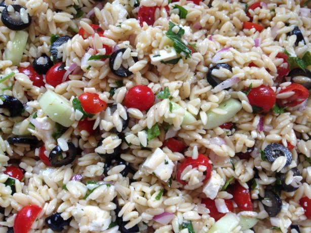 Perfect Greek Orzo Salad