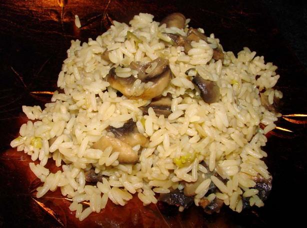 Kittencal's Mushroom Rice