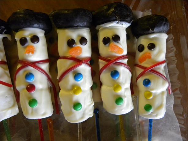Snowman Bouquet or Pops