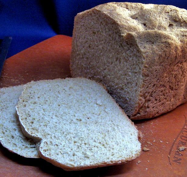 50 % Whole Wheat Bread - Bread Machine