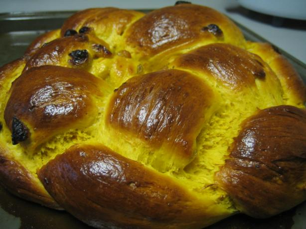 Swedish Saffron Bread