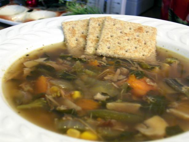 Easy Chicken and Veggie Soup