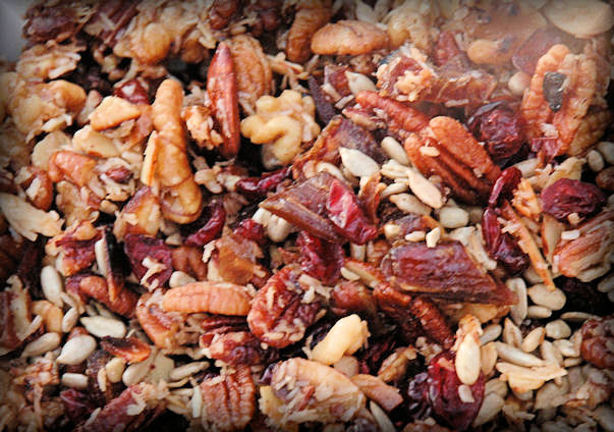 Maple Glazed Fancy Trail Mix