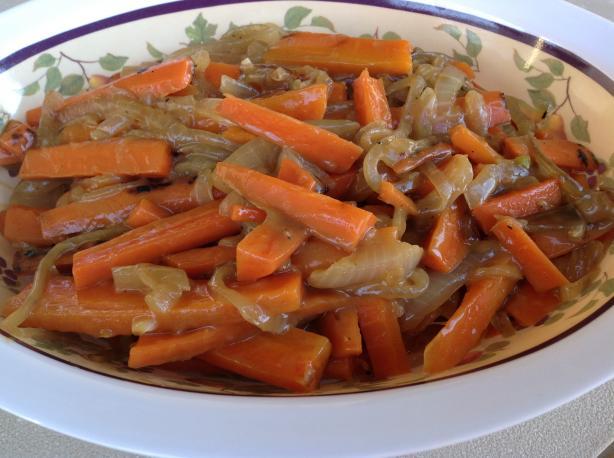 Carrots Lyonnaise