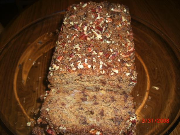 Tarrah's Healthy Banana Bread
