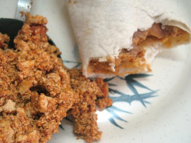 Tofu Taco/Burrito Filling