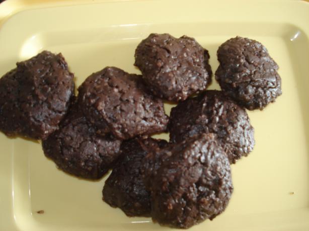 Mocha Shotglass Cookies