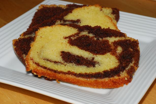 Basic Pound Cake.