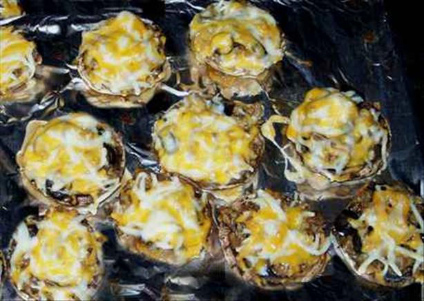Danny's Grilled Cheesy Mushroom Poppers