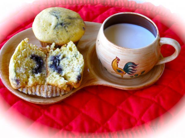 Cornmeal Jambuster Muffins