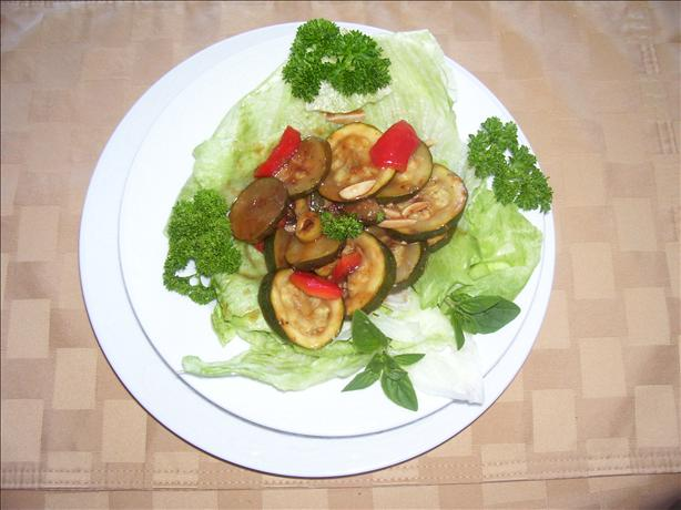 Zippy Zucchini Salad