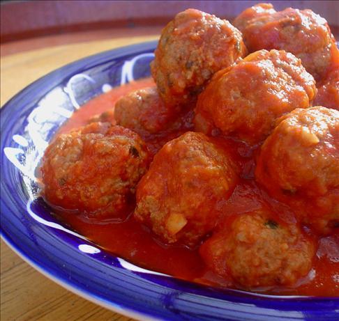 Calabrian Meatballs