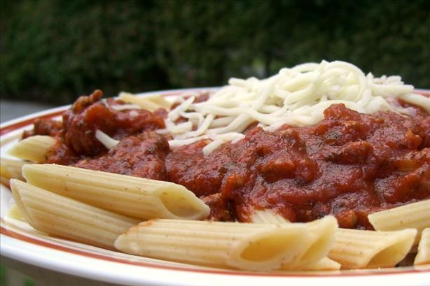 Marinara Sauce (With or Without Meat)