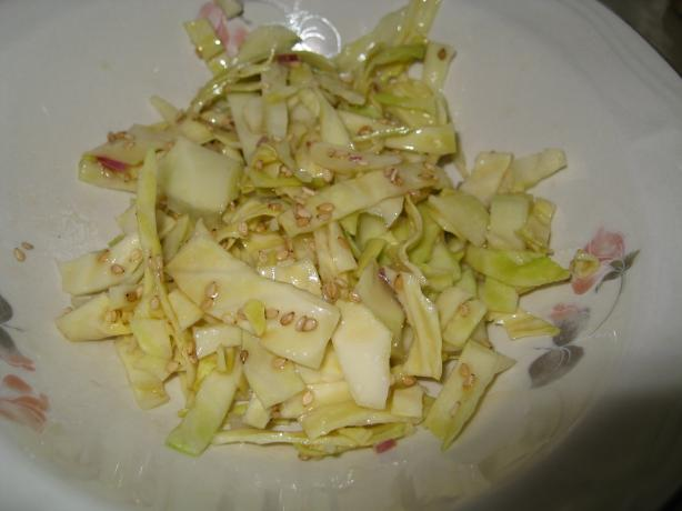 Oriental Cabbage Salad