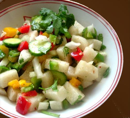 Jicama Rainbow Salad