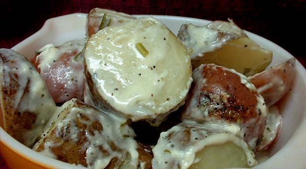 Baked Sour Cream -N- Chive Red Potatoes