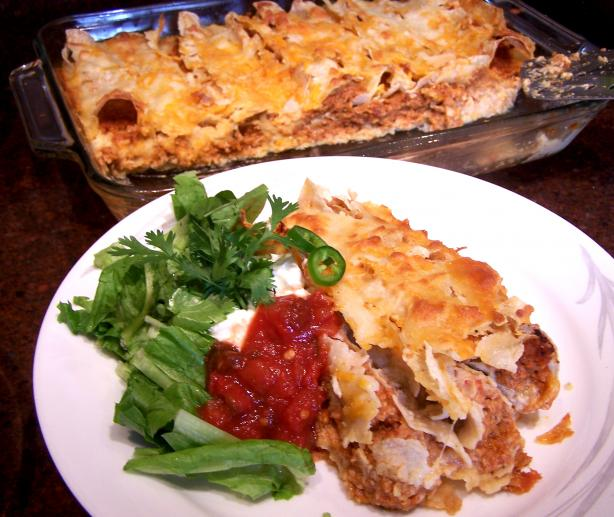 Rotel Enchiladas Con Pollo (Chicken Enchiladas)