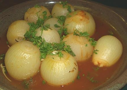 Mediterranean-Style Onions