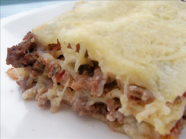 Minty Lamb Lasagna