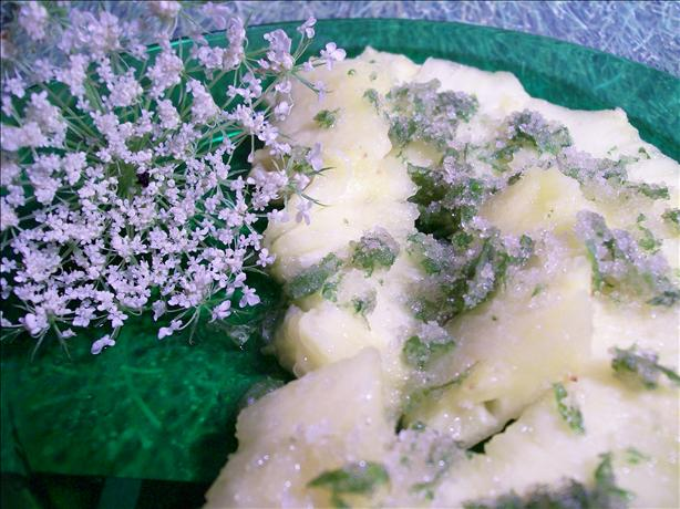 Pineapple 'carpaccio' With Mint Sugar