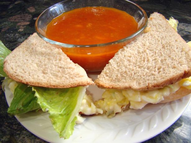 Healthy Egg Salad Sandwich