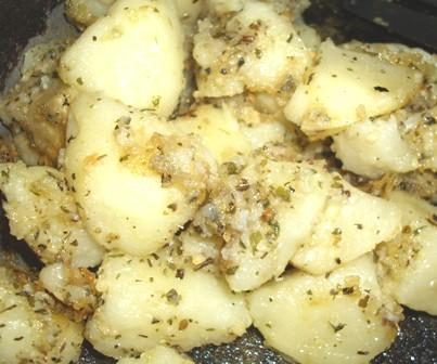 Fast Microwaved Pan Fried Potatoes