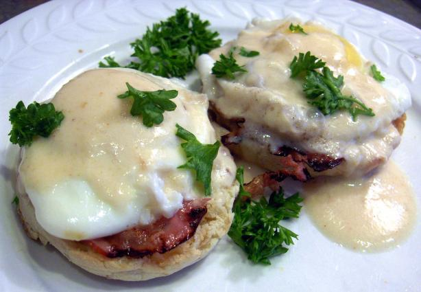 X-Ceptionally Healthy Eggs Benedict