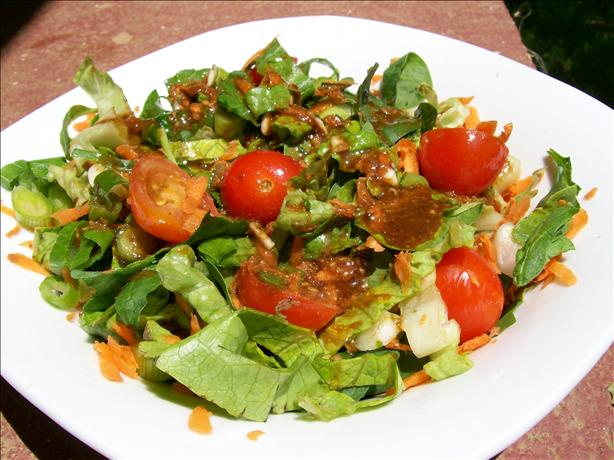 Mixed Salad With Hoisin Vinaigrette
