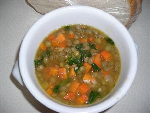 """Robust Lentil Soup, a La """" Athens Market"""""""