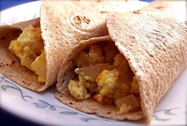 Healthy Breakfast Burritos